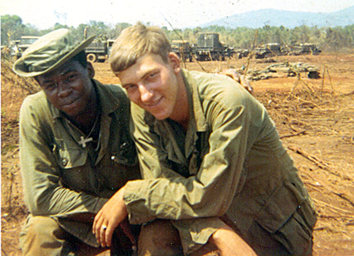 James Franklin and Runkle Vietnam 1969